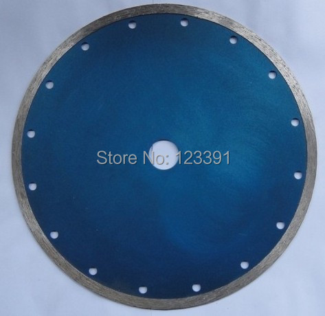 Free shipping  wet cutting 230*25.4*2.4*8mm rim segmented diamond saw blade for marble/granite/concrete cutting  цены