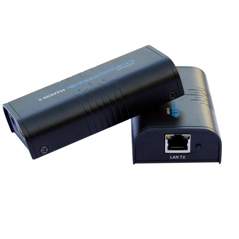 LKV373 HDMI удлинитель приемник комплект LKV373 V2.0 cat5e/6 кабель до 120 м(отправитель и ресивер