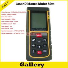 Buy online Distance Laser Measurer Trena Digital Medidas Laser Tape Measure 2015 Special Offer Real Distance 80 M Rangefinder Meter Gge80