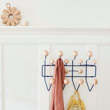 111 вешалка для одежды, дверная стойка с шариками, крючки для настенных украшений, многоцветные, все это для детского подарка, металлический декор для сумок