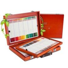 72/108 шт./комплект Цветной карандаш водорастворимый Цвет карандашный рисунок Дизайн Книги по искусству школьные принадлежности нетоксичные Цвет карандаш Ляпис de Cor