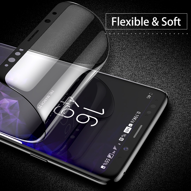 Image 2 - FLOVEME Full Cover Screen Protector for Samsung Galaxy S10 S8 S9 S10 Plus S10e Note 8 9 3D Curved Soft Protective Film Not Glass-in Phone Screen Protectors from Cellphones & Telecommunications