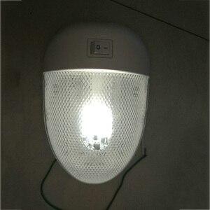 Image 4 - 1 шт. 2 Вт 8LED яхта RV потолочный купол свет RV Внутреннее освещение 12В DC прочная белая осветительная лампа