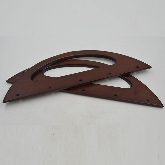 3010 Cm Size Mooi Hout Bag Frame Handvat China Groothandel Houten