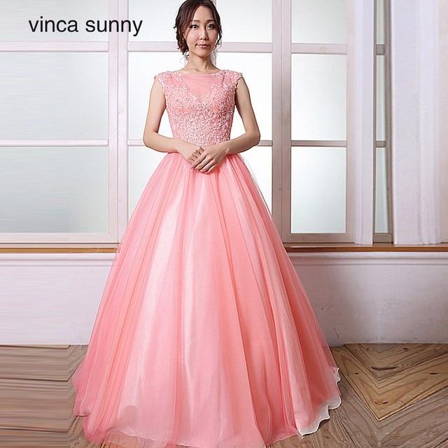 Vinca Sunny Vestido De Festa With Lace Appliques Tulle Party Prom