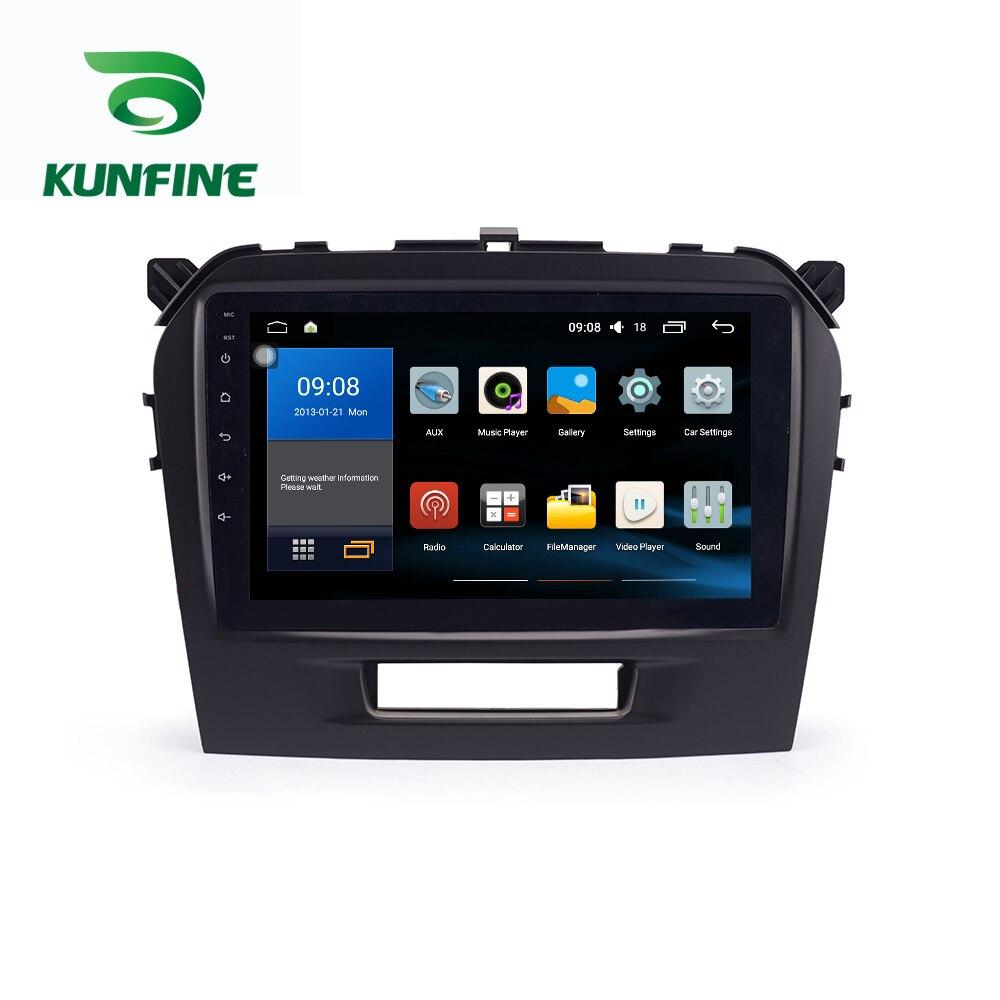 Octa Core 1024*600 Android 7.1 Car DVD GPS Navigation Player Deckless Car Stereo For SUZUKI Vitara 2015- 2018 Radio Headunit цена