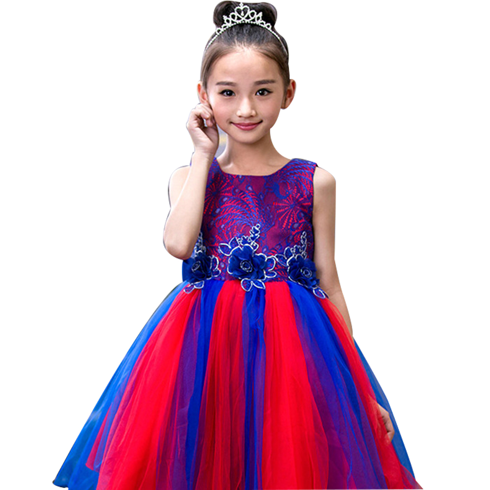 Summer Children Clothing 2018  Girl Dress Princess Pettiskirt Kids Party Birthdays Dresses Outwears Tutu Dress For Girls Costume 2017 summer teenage girl children birthday party veil dress costume for toddler girl kids clothing princess tutu dresses dress