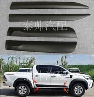 Лидер продаж аксессуары для Ranger T6 T7 высокого качества для Ranger ABS автомобильные аксессуары двери Украшение автомобиля гвардии Ranger Бесплатна