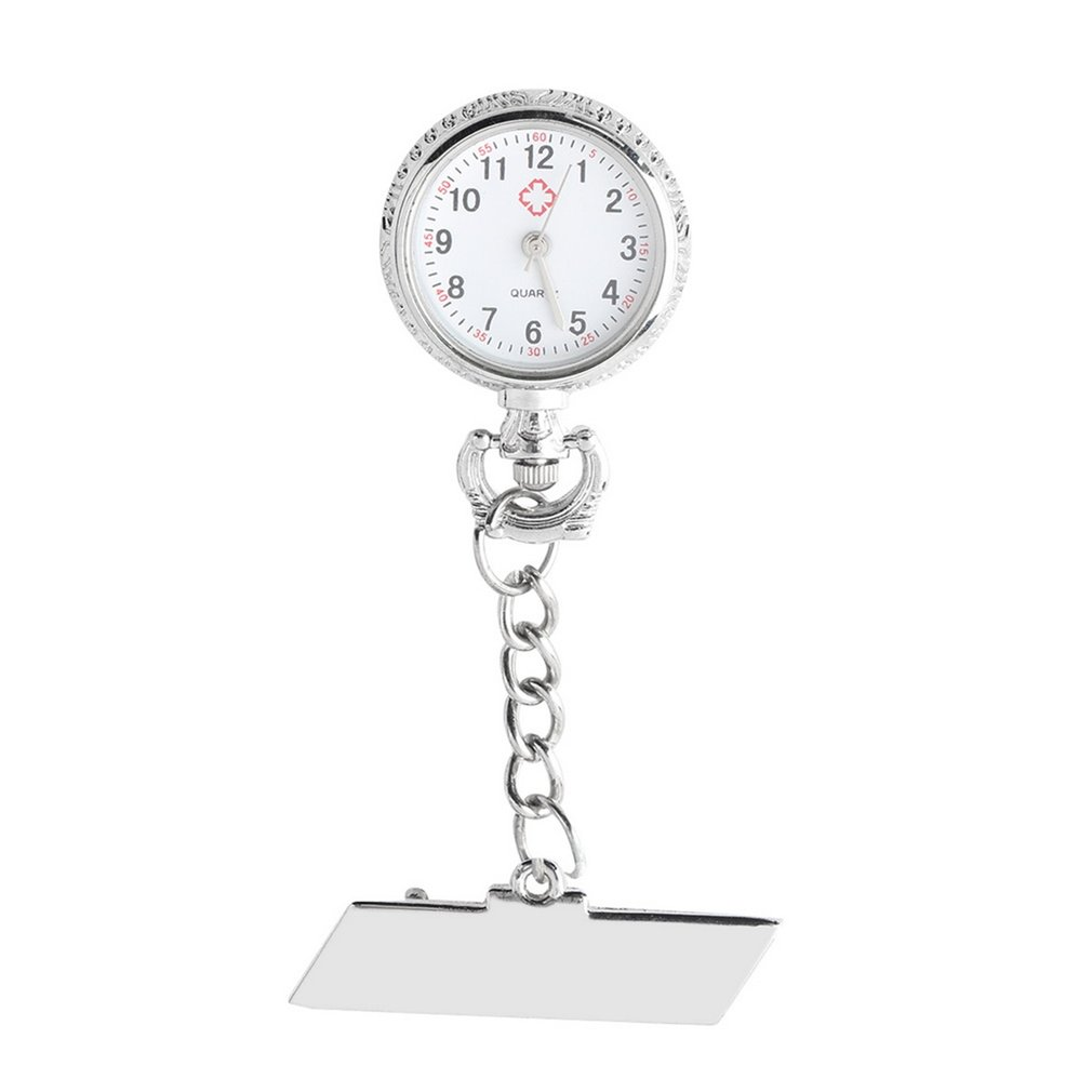 Dedicated Stainless Steel Hospital Nurse Watch Pocket Watch Medical Doctor Dial Quartz Nurse Watch Chest Table New