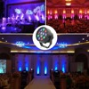 12X3w RGB DMX Stage Lights Business Lights Led Flat Par High Power Light With Professional For