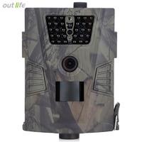 Outlife HT 001 940nm 850nm IR GPRS Hunting Camera Night vision 30pcs LEDs 750P 1084P Wildlife Trail Cameras Animal Photo Traps
