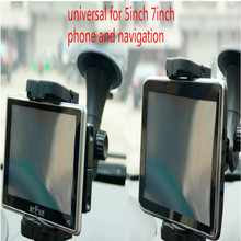 universal for tablet car holder phone navigation 5inch 7inch Retractable Rotatable with Sucker free shipping