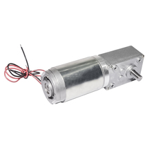 40GZ868 DC Gear Motor 12V 24V 3/9/14/25/40/50/80/110/160rpm Worm Reducer Geared Electric Motor With Reduction Gearbox For DIY