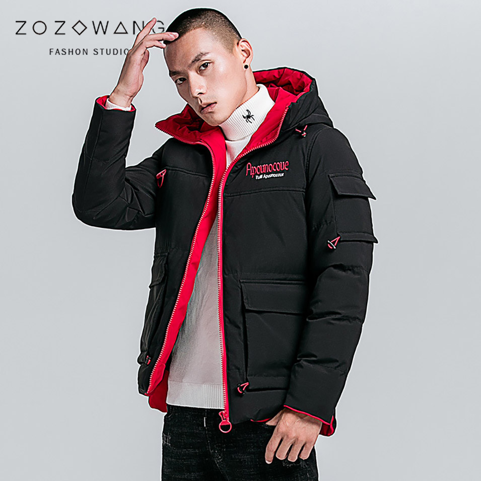 ZOZOWANG 2019 Spring winter jacket men   parkas   male hooded Camouflage men coat fashion Casual thick loose jacket plus size 4XL