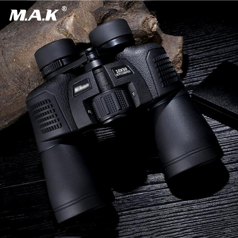 Magnification 10X and 8X Waterproof Binoculars 10*50/8*40 Shockproof Optics Telescope for Hunting Camping 8x30 binoculars outdoor telescope magnification 8x focusing vison for hunting cl3 0046