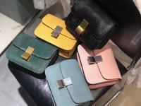 Бесплатная доставка, ящерицы, тофу коробка, пакеты, женская маленькая сумка, кожаная сумка из коровьей кожи, женская модная сумка через плеч