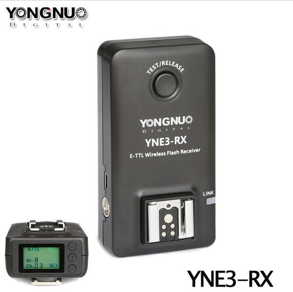 Yongnuo YN-E3-RX E-TTL Беспроводная Вспышка Приемник для YONGNUO YN568EX II, YN565EX II YN600EX-RT, YNE3-RX для Canon 580EX II 600EX-RT