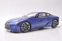 1:18 литья под давлением модели для Lexus LC 500 h LC500h 2018 синий купе сплава игрушечный автомобиль миниатюрный коллекция подарок LC500