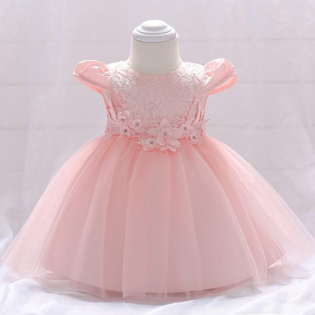 b2b3d5bc2 2018 vintage Baby Girl Dress Baptism Dresses for Girls 1st year ...