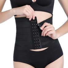 Women Shapers Bamboo Fiber Waist Trainer Corset Slimming Belt Body Modeling Strap