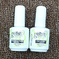 Nail Gel uv topcoat Top it off + Base Coat Foundation for uv gel polish ,uv gel polish topcoat and primer kit