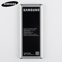 Original Mobile Phone Battery EB BN910BBE For Samsung GALAXY NOTE4 N910u N910F N910H N910a NOTE 4