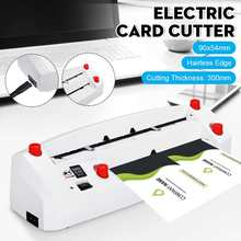 Automatic Name Card Slitter Business Card Cutting Machine Name Card Cutter A4 size 90x54mm(China)
