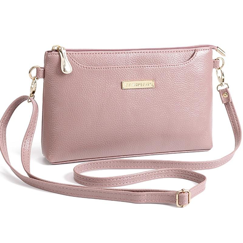 women famous brand leather Shoulder mini bag Crossbody bag Sac a Main Femme Ladies Messenger small Bag Long Strap Female Clutch