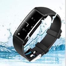 Y9 смарт-браслет сердечного ритма Bluetooth группа Приборы для измерения артериального давления Мониторы браслет Фитнес трекер smartband для iOS телефона Android