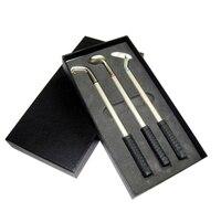 3 Mini Golf Clubs Pen Set Great Gift For Men Or Womens Desktop Writing Pens