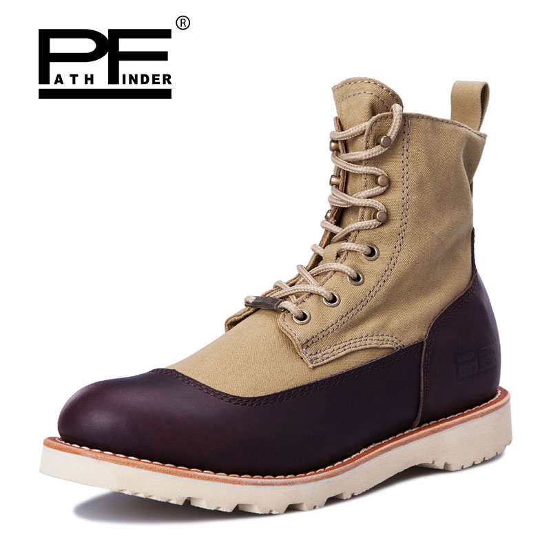 Pathfinder Male Hiking Boots Desert Tactical Combat Boots
