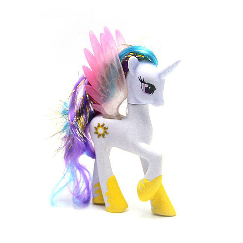 14cm Pony Toys Horse Unicorn Pet In Action Figure Colorful Different Styles Doll Kids Toy Model PVC Doll For Girls Gift 14cm pony toys horse unicorn pet in action figure colorful different styles doll kids toy model pvc doll for girls gift