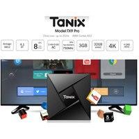 Android 7 1 Bluetooth 4 1 Tanix TX9 Pro 3G RAM 32G ROM Set Top Box