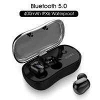 2019 Новый слог D900P Bluetooth V5.0 СПЦ наушники True Беспроводной стерео вкладыши Водонепроницаемый слог Bluetooth гарнитура для телефона