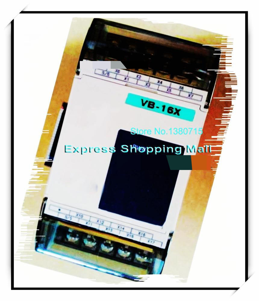 New Original VB-16X PLC 24VDC 16 point input Expansion Module new original vb 16yr plc 24vdc 16 point input expansion module
