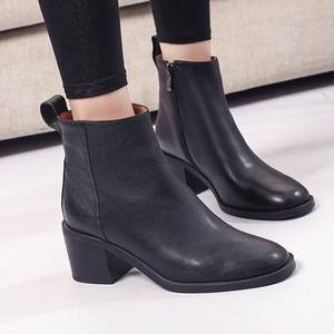 8dff2a2bc71 SIKETU Winter shoes women High Heels Short Boot Ankle