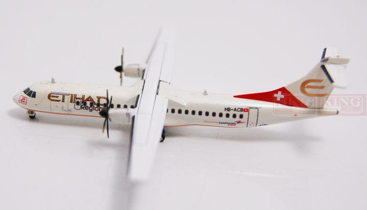 JC Wings XX4362 ATR-72 HB-ACB 1:400 Etihad Airways commercial jetliners plane model hobby special offer wings xx4232 jc korean air hl7630 1 400 b747 8i commercial jetliners plane model hobby