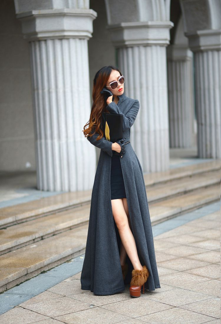 Extra long womens jackets – Modern fashion jacket photo blog
