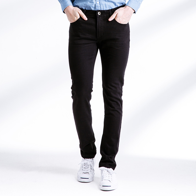 Brand Classic Mid Slim Fit Pants Trousers Pantaloon Elastic Skinny Men's Denim Jeans Casual Jeans Men High Quality new candy colors skinny denim pants for men elastic stretch five pockets classic fashion slim fit jeans trousers