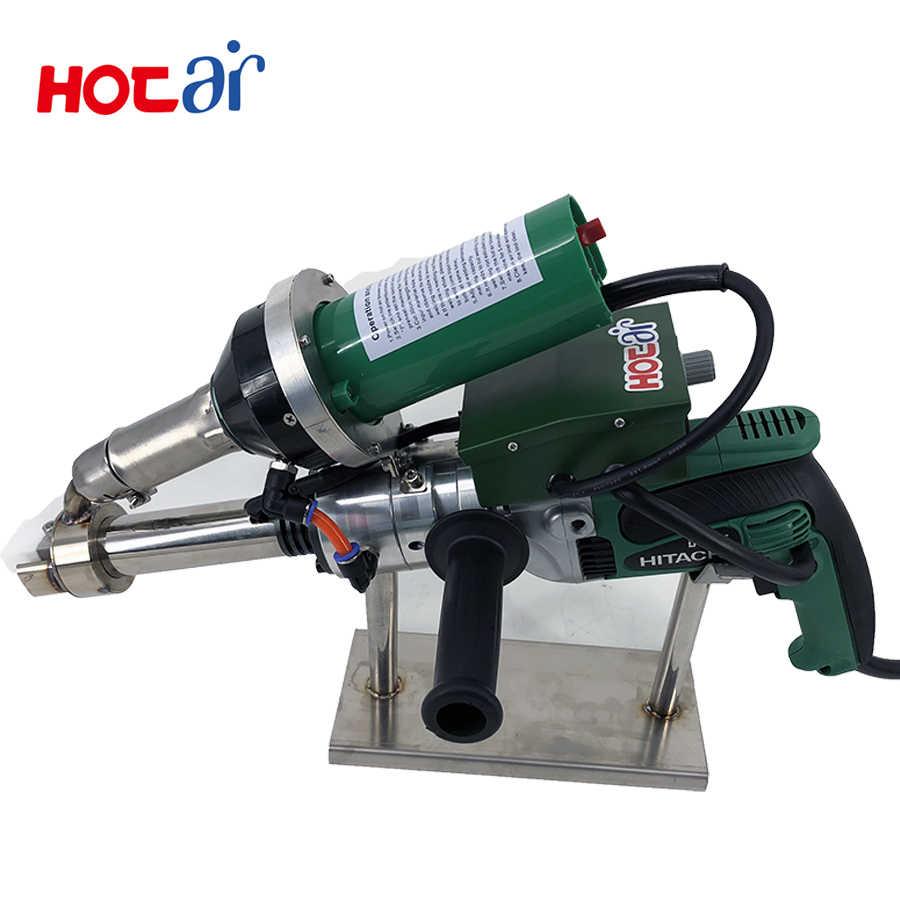 Plastic hand extruder welding gun plastic extrusion welder HDPE pipe  welding machine TOPLINK