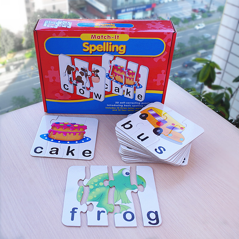 Matching Letter Spelling Match It Spelling English Words