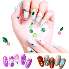 20 Styles Nail Art Template 3D Silicone Mold Case For DIY Unique Rhinestone Beautiful Decorations NCG