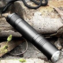 Sofirn SF32 taşınabilir LED el feneri 18650 EDC cep lambası Cree XML2 taktik el feneri su geçirmez 5 modları arama ışığı
