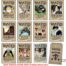 One Piece Wanted Posters Sets (10 Models)