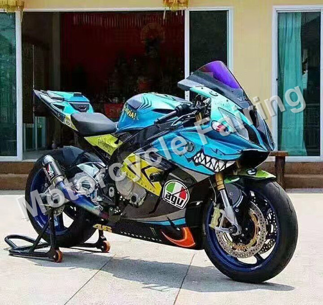 Shark Color Painting For Bmw S1000rr 2010 2011 2012 2013 Injection Molding Abs Plastic