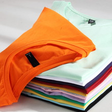 Quality 100% Cotton Plus Size Plain T Shirt Women Elastic Basic T-shirts Female Casual Tops Short Sleeve T-shirt 78