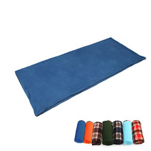 Multi-function Fleece sleeping bags cant play ball Camping outdoors Sport Mountaineering Camp Sleeping bag
