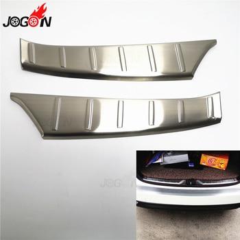 Subaru Forester 2013-2018 için İç Arka Tampon Koruyucu Eşik el tutamağı kapağı Gövde Koruma Trim Paslanmaz Çelik 2 adet