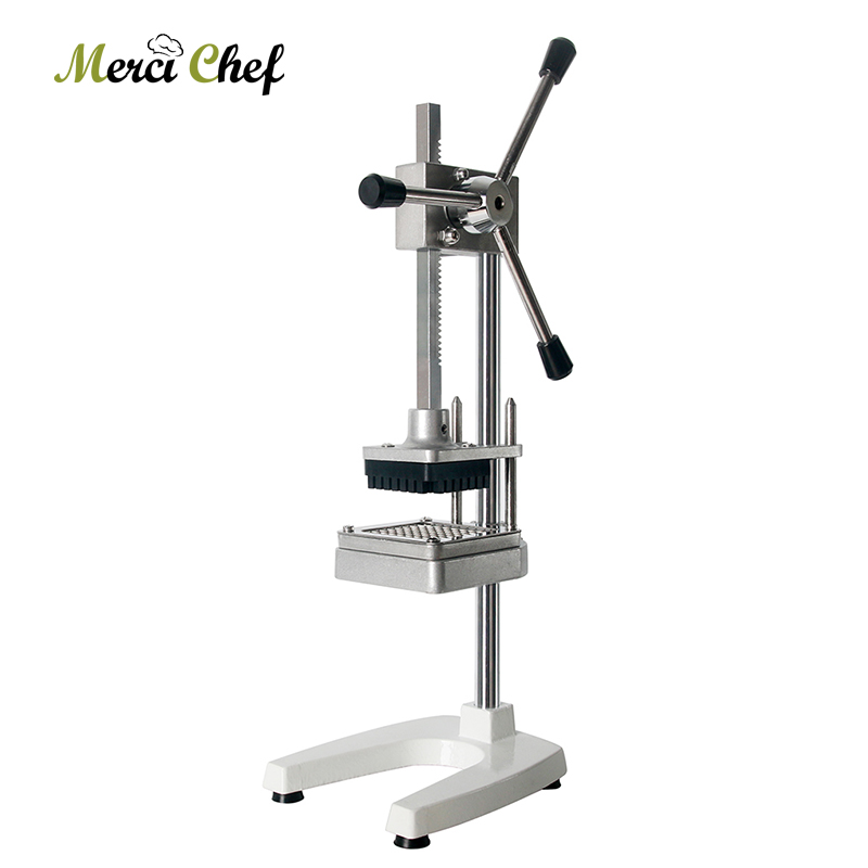 ITOP Commercial Vertical Potato Chip Cutter Slicer Machine Aluminium Alloy French Fries Cutter Potato Carrot Slicer