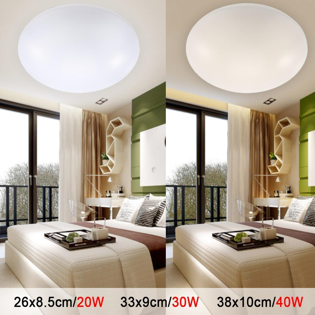 Led Ceiling Lights Dia 260mm Acrylic Warm White Cool White 20w 30w 40w Modern Led Lamp Living